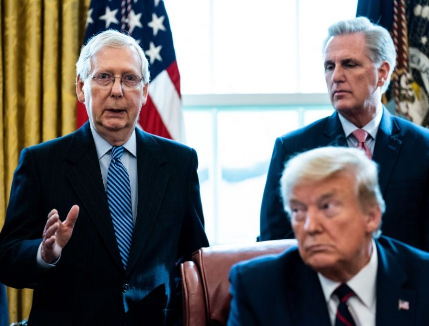 McConnell acknowledges Biden and Harris won election in major break with Trump